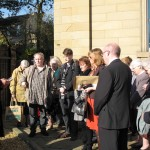 Dedication of the front garden